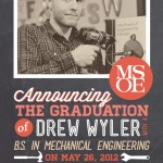 Drew's Graduation Announcements