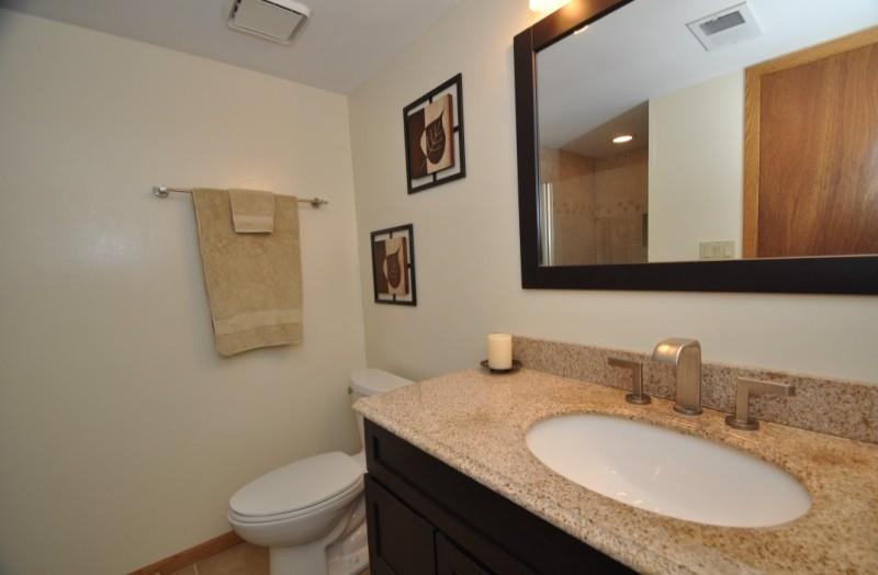 pewaukee house - bathroom lower