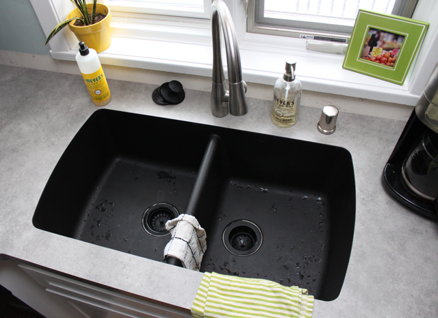 ... Karran Undermount Sink With Laminate By Kitchen Countertops Drew Amp  Vanessa ...