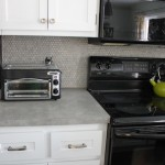 Kitchen Update: Backsplash Tile Sealed